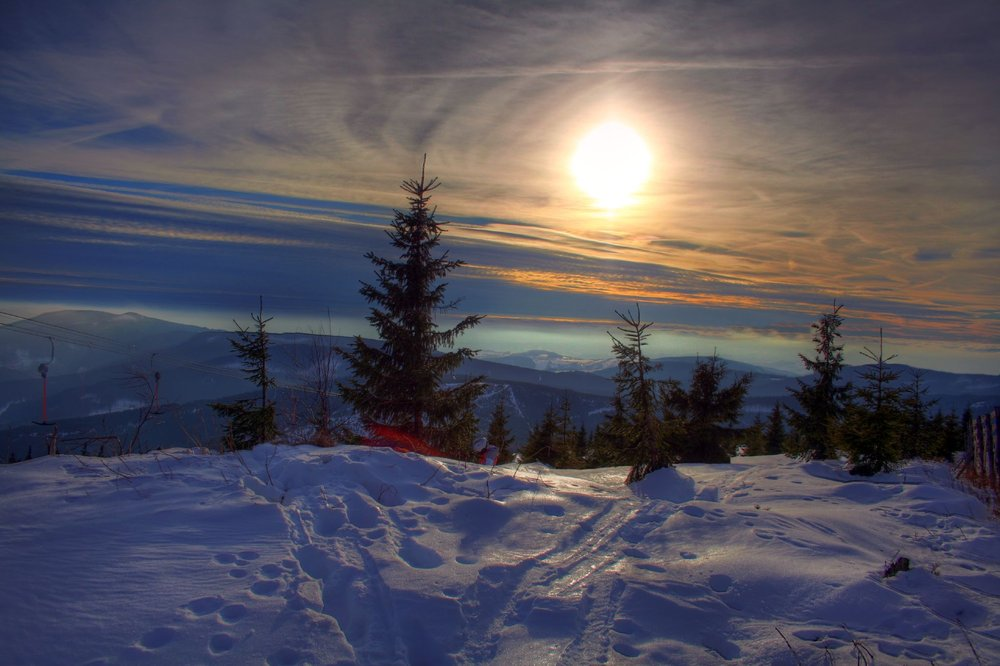 Scenic view of Spindleruv Czech Rep