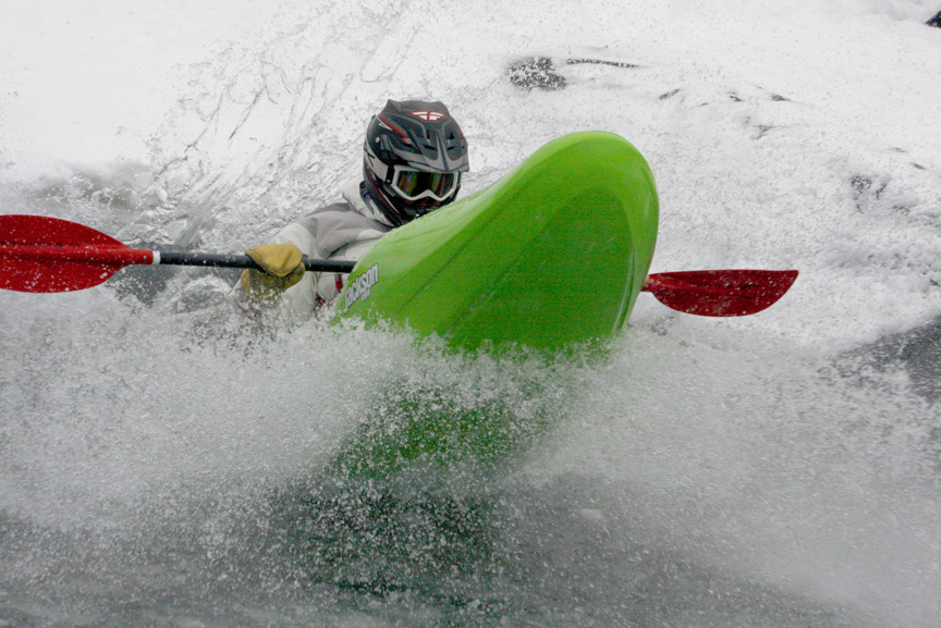 It's a kayaker's paradise during Monarch Mountain's annual Boater Cross event.