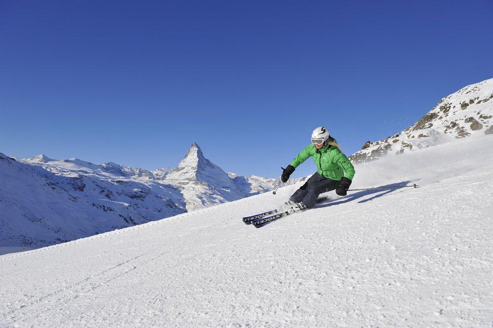 Breathtaking views of the Matterhorn from Zermatt's slopes - ©Zermatt Tourism