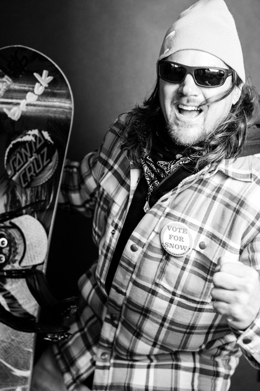 Stephen Gladstone / Arapahoe Basin Opening Day 2012 - ©Liam Doran