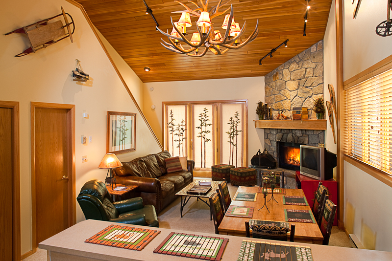 Big Horn condos sit a short walk from the slopes at Big Sky. Photo courtesy of Big Sky Resort.