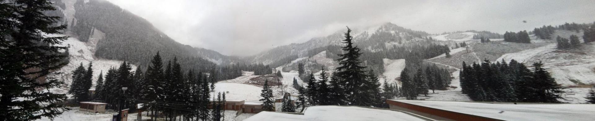 A snowy morning at Stevens Pass. Photo: Stevens Pass/Facebook