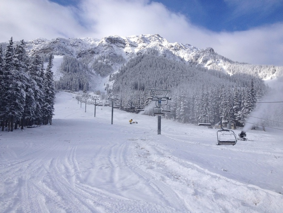 Mt. Norquay will open for skiing and riding on Oct. 25.