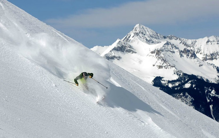 Powder at Telluride Ski Resort