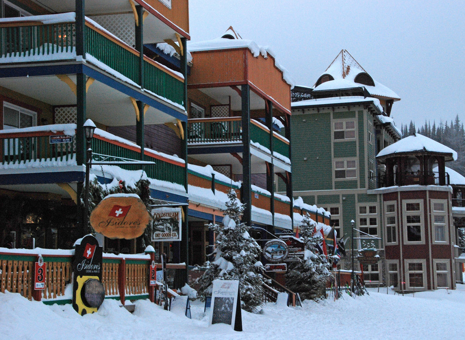 The village at Silver Star has lodging, shopping, and dining. Photo by Becky Lomax. - ©Becky Lomax