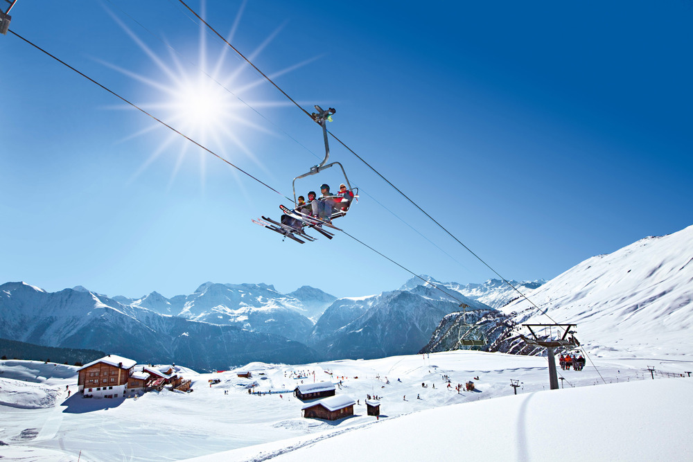 Ski Lift Switzerland