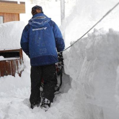 A massive storm rolled through Snowbird and left a lot of snow to clean up