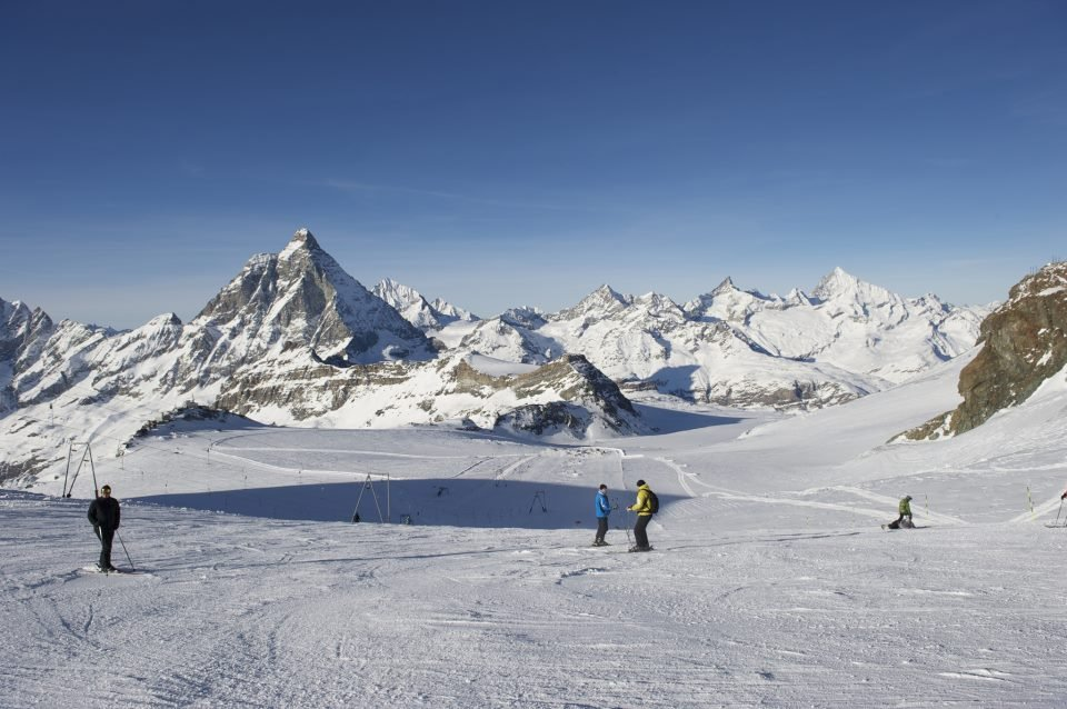Zermatt's Matterhorn glacier paradise. Photo taken Nov. 15, 2012