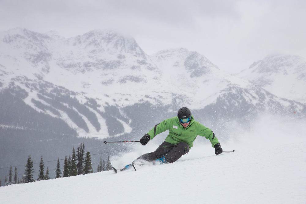 Opening day 2012 on Whistler Mountain. Photo by Mitch Winton/Coastphoto.com. Courtesy of Whistler Blackcomb.