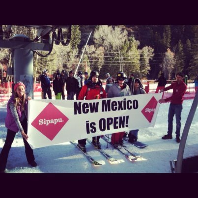 Sipapu was the first New Mexico ski area to open for the 11th consecutive year on Saturday Nov. 17. The ski area had the most trails open for opening day in its history and broke an opening day attendance record.