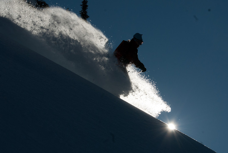 Great photo from Heli-Skiing at CMH-Monashees