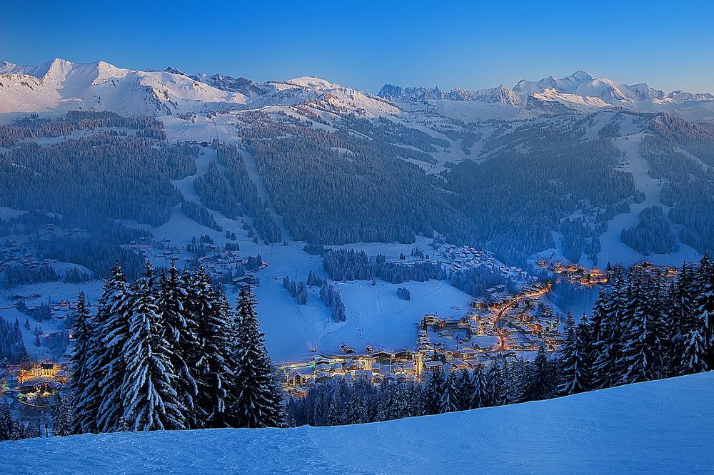 Skiing at Les Gets - ©D. Bouchet OT Les Gets