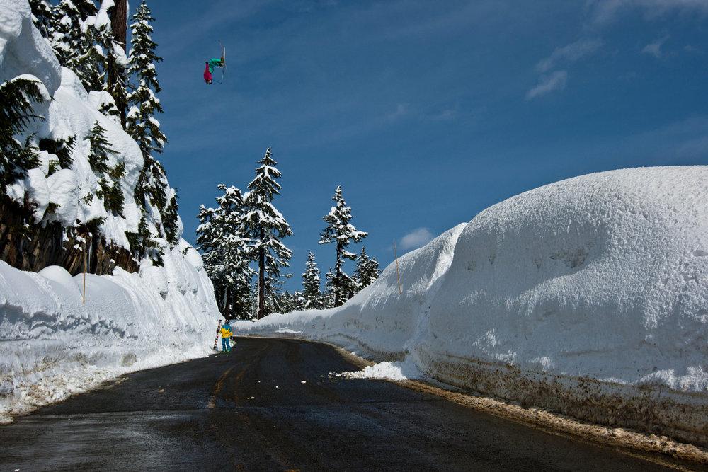 Kc Deane skiing at Mt. Baker - ©Grant Gunderson