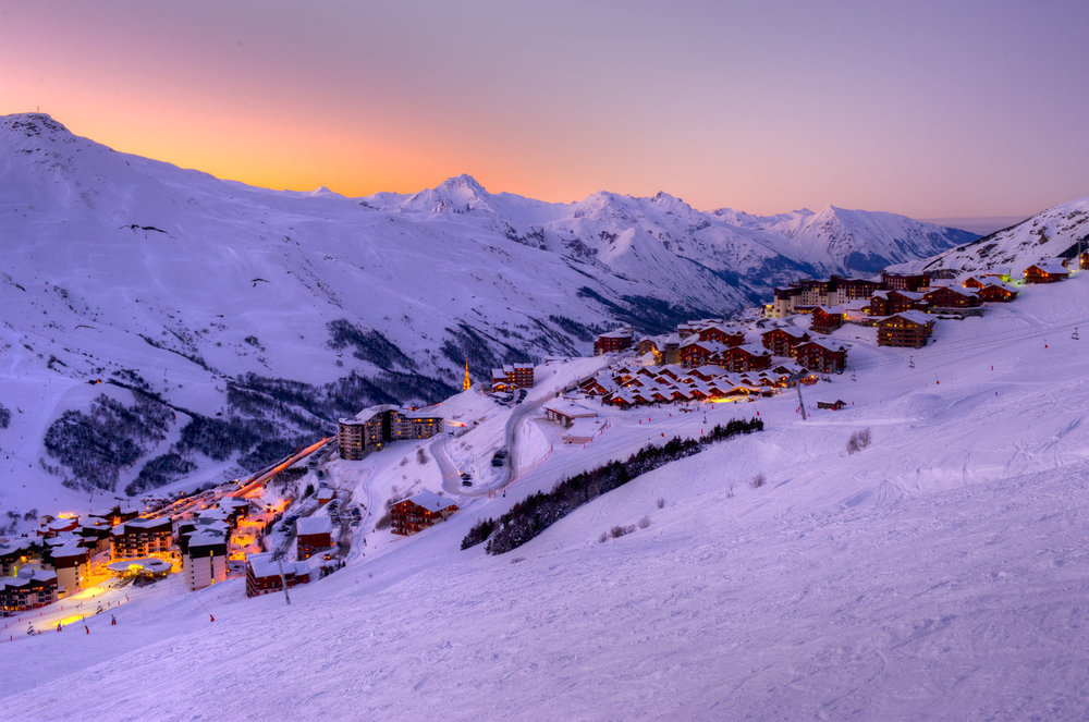 Modern infrastructure with plenty of apres-ski activities - ©Les Menuires