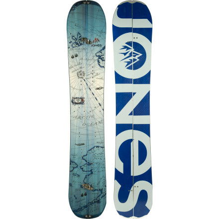 Jones Snowboards The Solution Splitboard—The Solution from Jones Snowboards is one of the most sought after splitboards available for backcountry snowboarders. The Solution allows backcountry snowboarders the ability to ascend and descend backcountry lines without having to sacrifice performance, thanks to directional rocker with traditional camber underfoot as well as Mellow Magne-Traction on both the inner and outer edges. $799 - ©Jones Snowboards