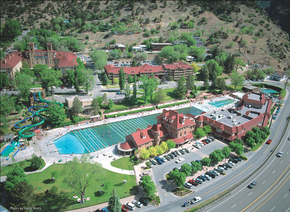 The Hot Springs Pool is in Glenwood Springs, just outside of Sunlight Mountain Resort. Photo Courtesy Sunlight Mountain Resort