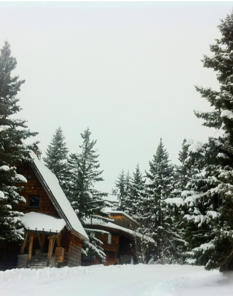 40cm of snow in Avoriaz and still snowing. Nov. 29, 2012