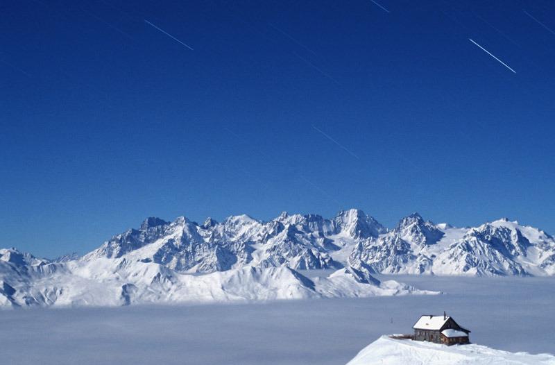 Cabane Mont Fort, Verbier. - © Club alpin suisse