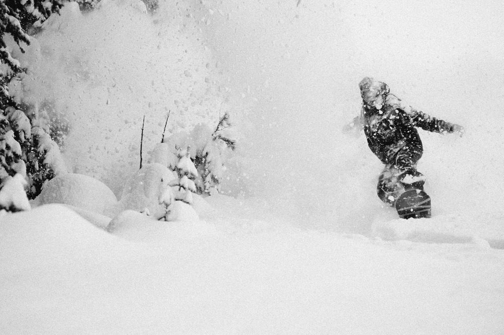 Cold smoke at Sun Valley with Wyatt Caldwell. Photo courtesy of Sun Valley Resort. - ©Tal Roberts