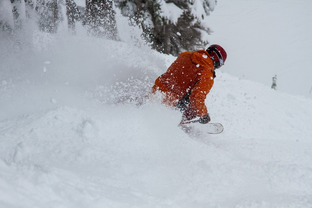Powder turns at Mt. Hood Meadows. - ©Liam Doran