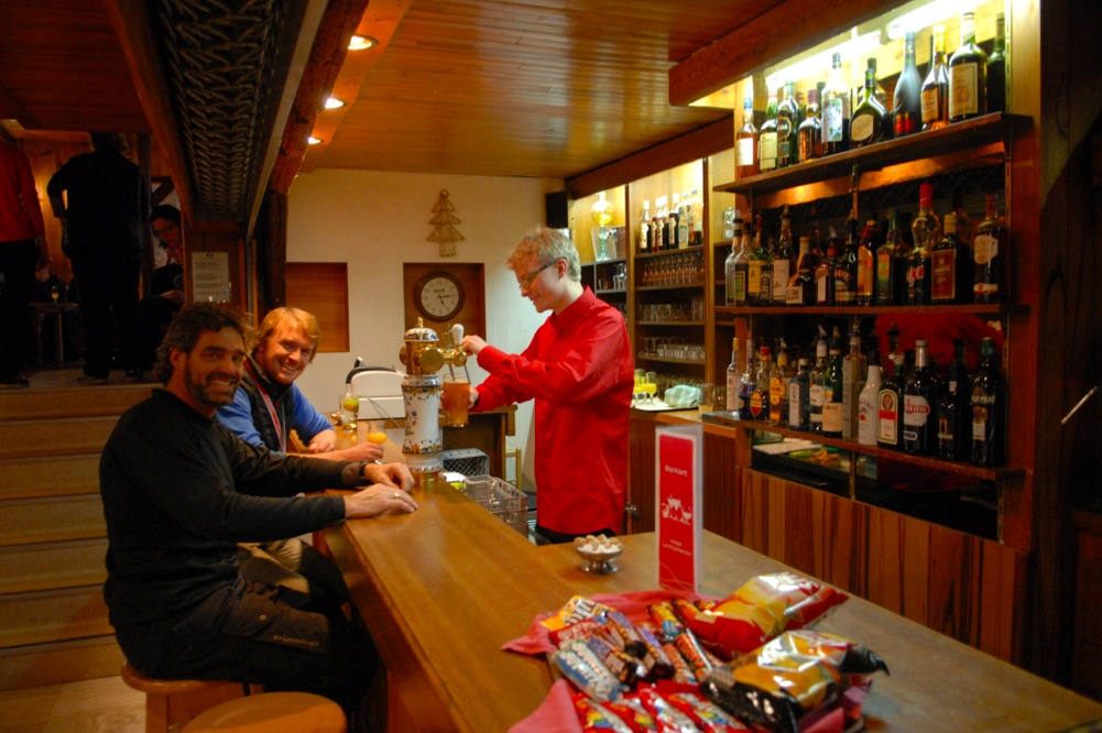 Anders Højlund, bar in Tignes