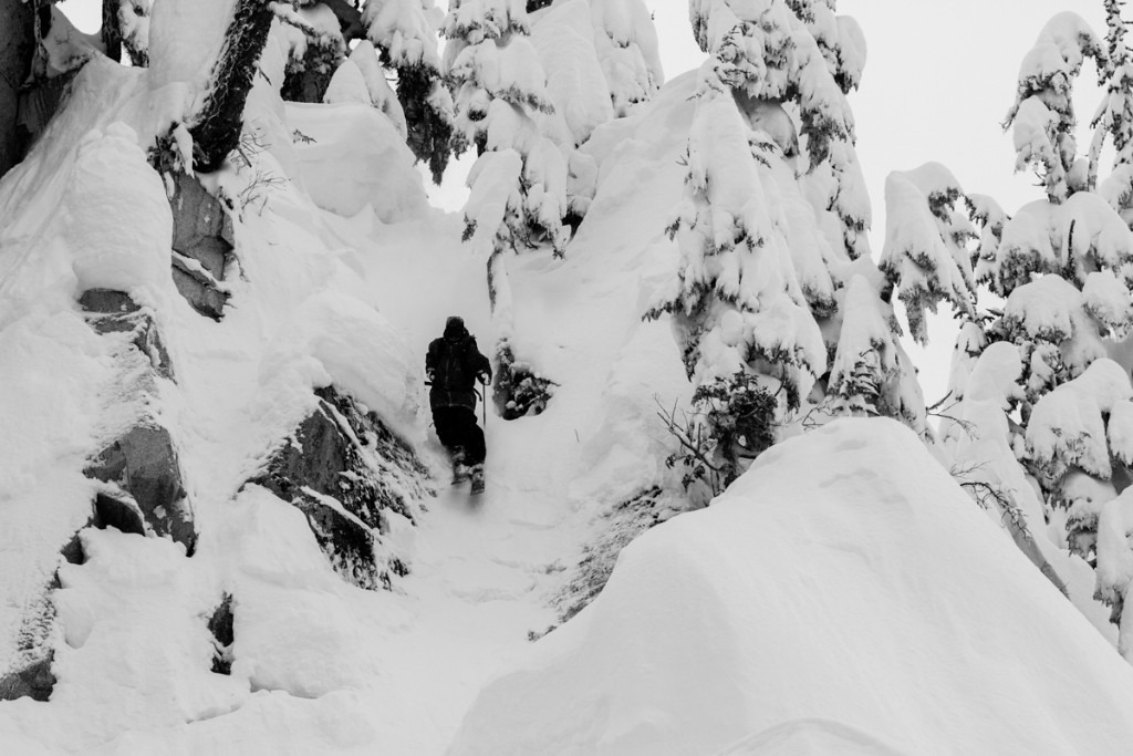 Stevens Pass has plenty of steep skiing to get your heart racing - ©Liam Doran