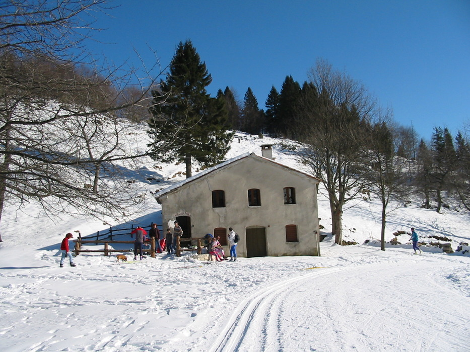 Mountain hut in Recoare Mille. Dec. 8, 2012