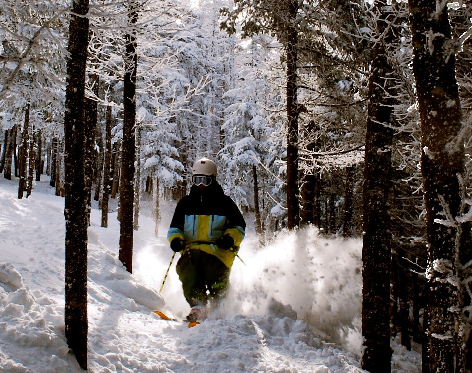 Tree Skiing at Saddleback, ME. - ©Saddleback Maine/Facebook