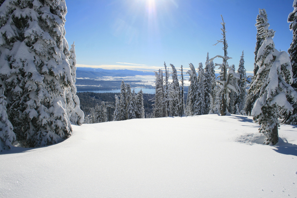 Sunshine at Brundage. Photo courtesy of Brundage Mountain Resort.