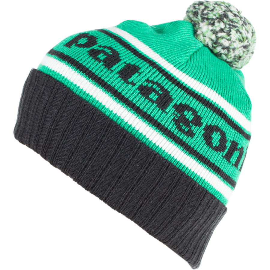 Patagonia Powder Town Beanie - This retro beanie is made from a nylon and merino wool blend that protects your head from precipitation and keeps you warm, without the itch factor. $39.