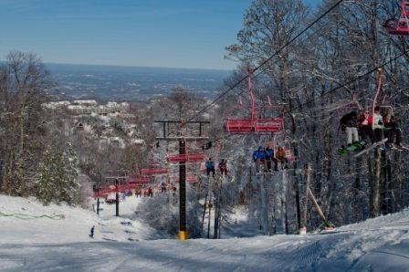 Chairlift at Ober Gatlinburg