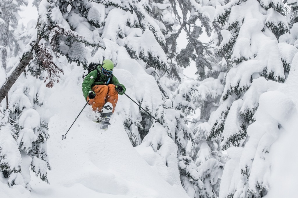 Zack Giffin tearing it up at Mt. Baker