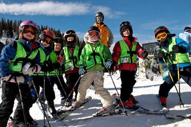 The Arapahoe Basin Ski School has kids smiling.