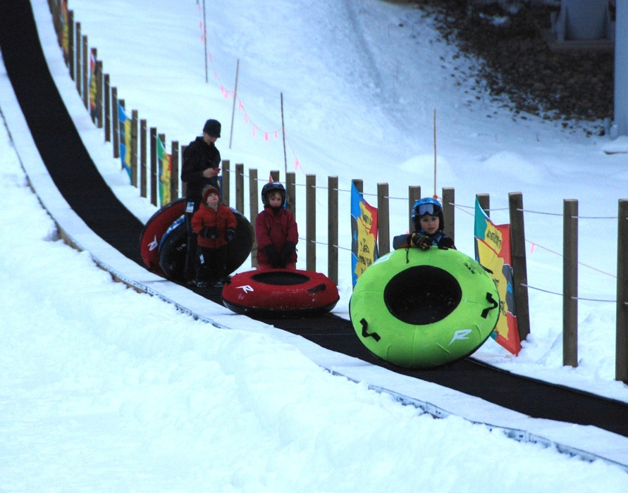 Revelstoke's tubing hill is a favorite family attraction. Photo by Becky Lomax.