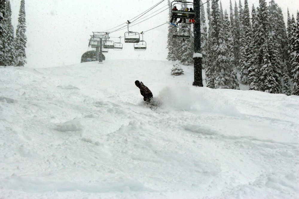 Revelstoke boarder - ©Revelstoke Mountain Resort