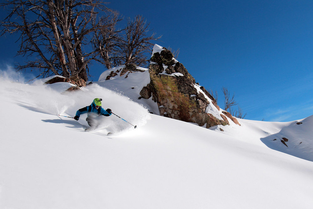 Jackson Hole has seen powder conditions this winter. Photo courtesy of Jackson Hole Mountain Resort.