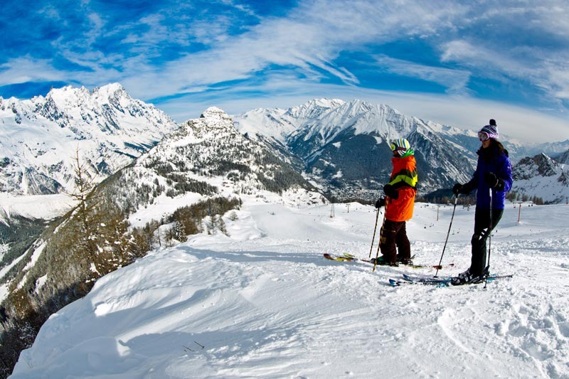Courmayeur, skiarea