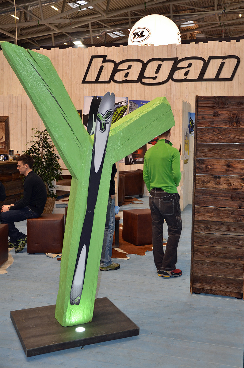The Hagan Y at ISPO 2013
