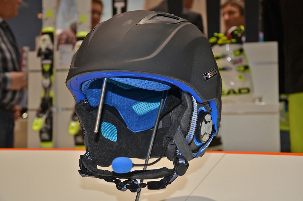 HEAD's Runtastic helmet uses a well-known smartphone app technology