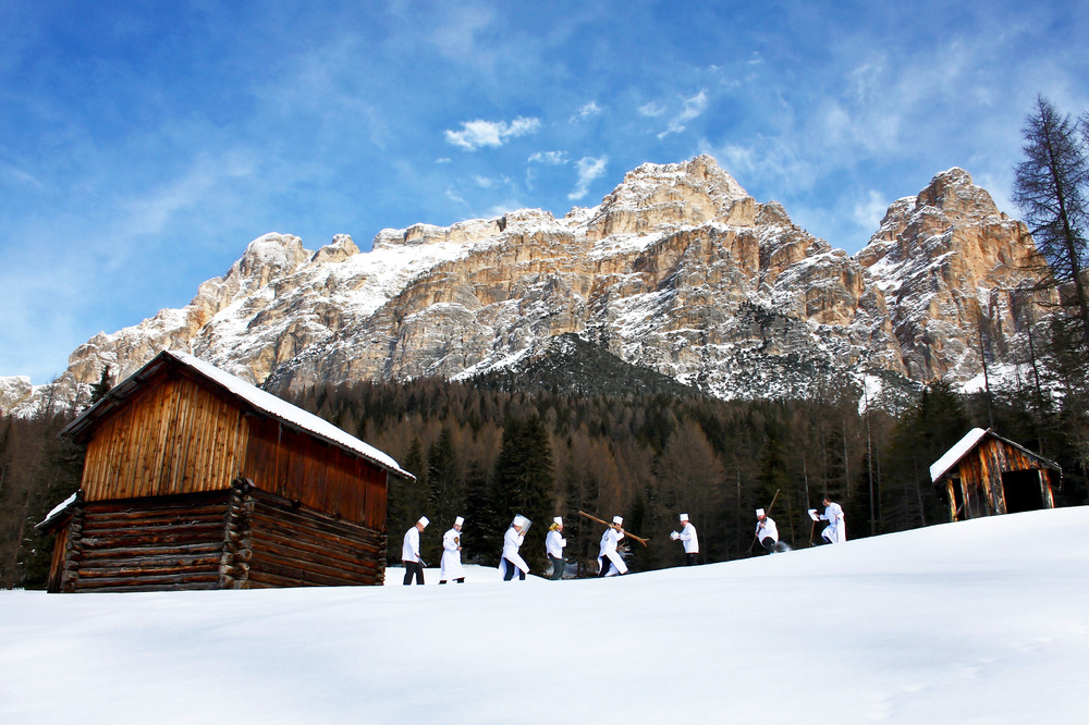 A 'taste for skiing' is a popular theme in 12 mountain refuges in Alta Badia