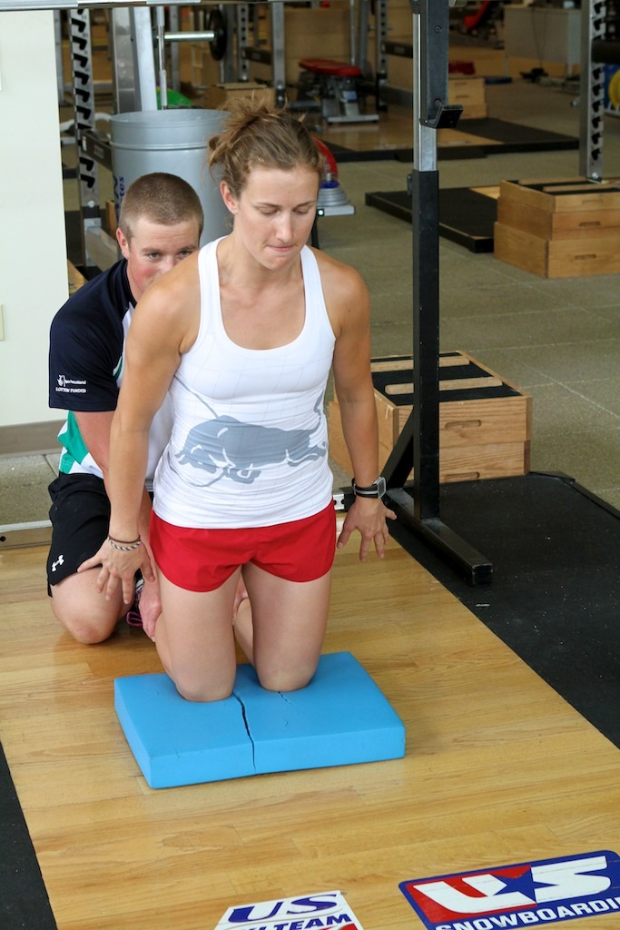Partner Glute Ham with Heather McPhie.