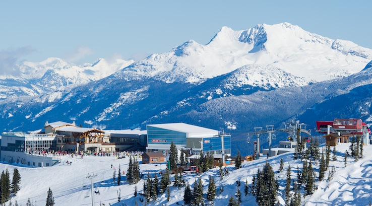 Whistler Blackcomb:  Whistler Mountain top.  Photo by Mike Crane, courtesy of Whistler Tourism.
