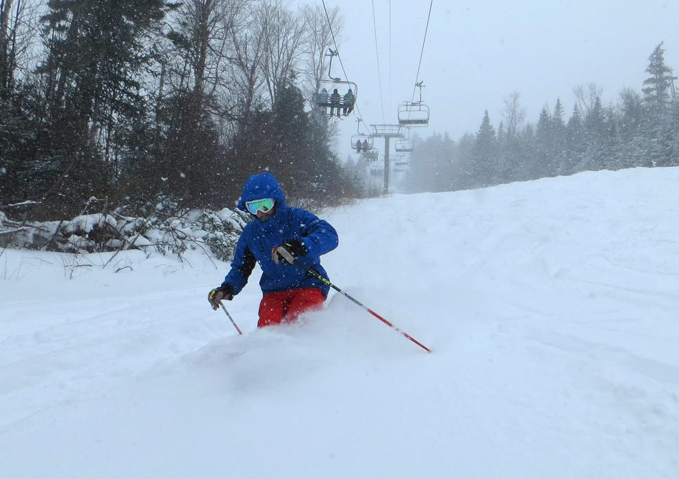 The powder was plentiful from Nemo at Bretton Woods.
