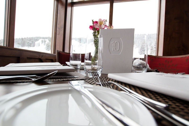 Vail's new premiere on-mountain dining experience, the 10th is worth a stop. Make reservations however, since seating goes fast.  - ©Liam Doran