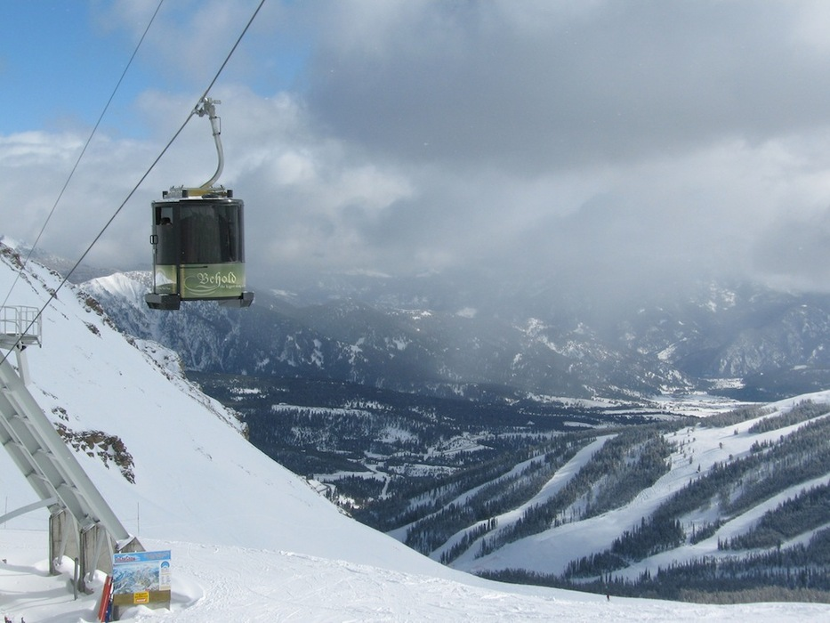 Lone Peak Tram at Big Sky Resort. Photo courtesy of Big Sky Resort.