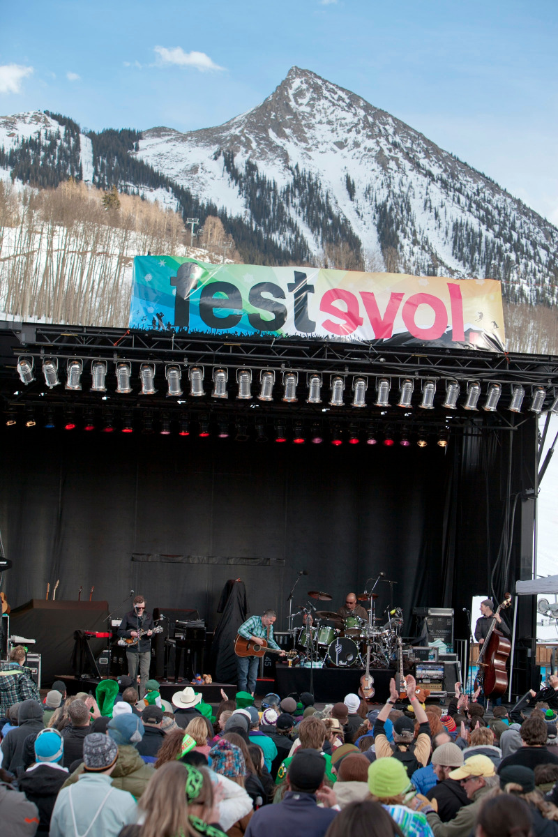 FestEVOL returns to Crested Butte Mountain Resort for an afternoon of music in the mountains, featuring John Popper and The Wailers.  - ©Nathan Bilow
