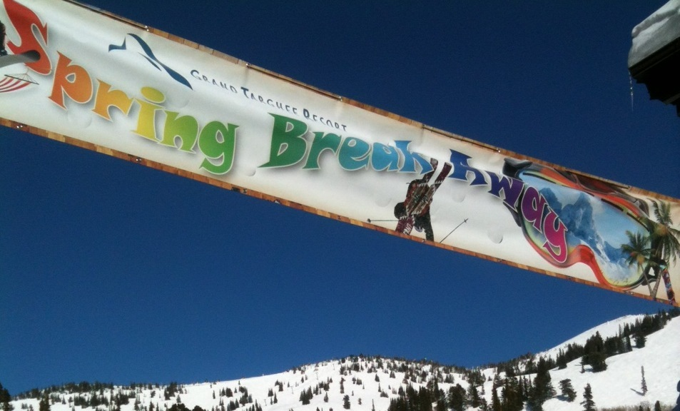 Spring Breakaway at Grand Targhee Resort. Photo courtesy of Grand Targhee Resort.