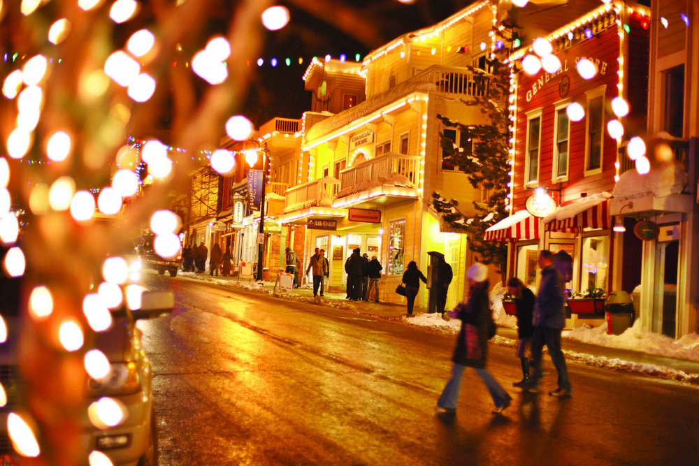 Downtown Park City - ©Park City Chamber | Convention & Visitors Bureau
