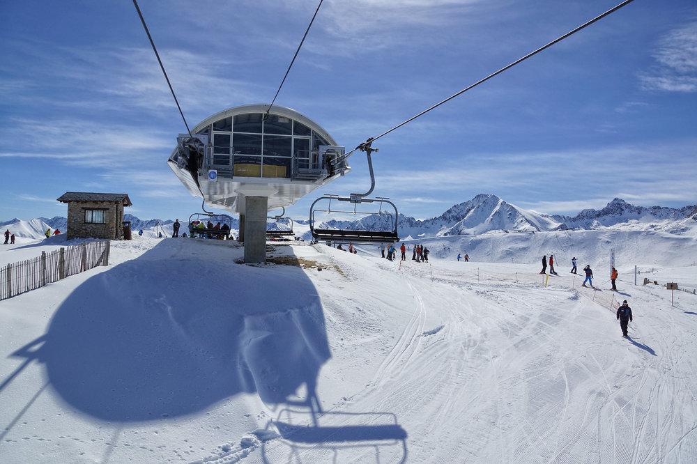 Grandvalira chairlift, Andorra