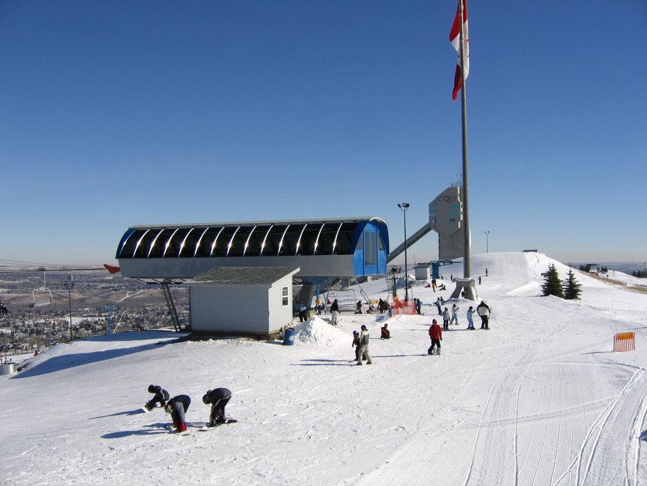 Calgary, Alberta's Canada Olympic Park.